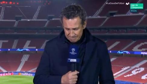 Valdano rompe a llorar en directo al recordar a Maradona: