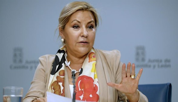 La vicepresidenta de Castilla y León presenta su renuncia irrevocable