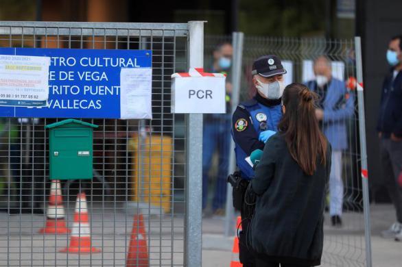 Así son los test rápidos de antígenos que empieza a usar hoy Madrid en Vallecas