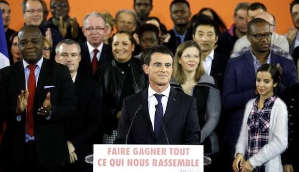 Manuel Valls anuncia su candidatura a la Presidencia de Francia