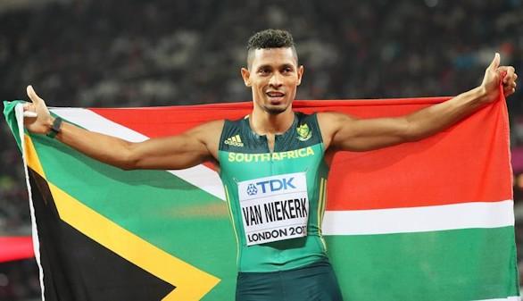 Mundial de atletismo. Van Niekerk sigue siendo el rey del 400