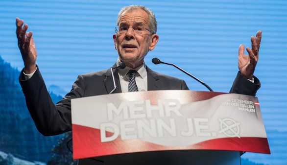 Austria se salva de la extrema derecha y elige a los ecologistas