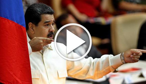 Huevos e insultos para Maduro tras un desfile militar en Venezuela