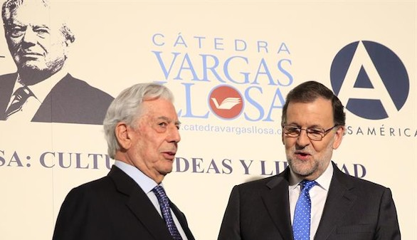 Rajoy califica a Vargas Llosa de