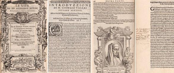 La edición digitalizada de 'Las vidas' de Vasari, tiene anotaciones de El Greco. Fotos: Biblioteca Nacional