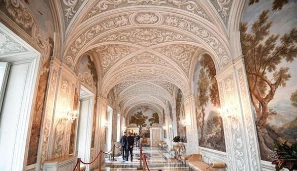 El Vaticano abre el palacio del Castel Gandolfo al gran público