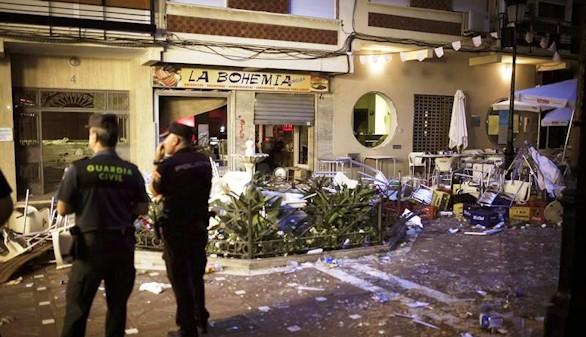 Una deflagración de gas causa al menos 90 heridos en Vélez-Málaga
