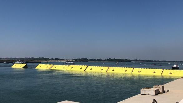 Venecia prueba las 78 compuertas que evitarán que vuelva a inundarse