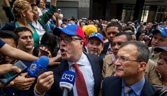Tensión en la toma de posesión de la Asamblea Nacional venezolana
