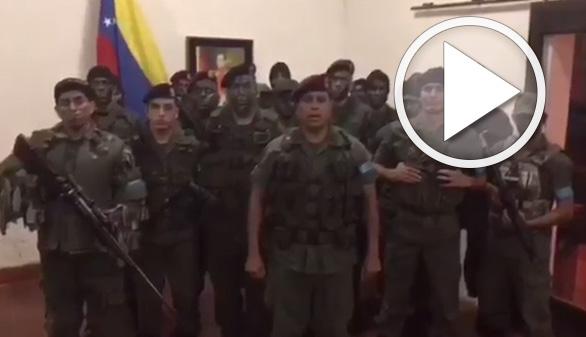 El ejército chavista aplasta un intento de rebelión militar