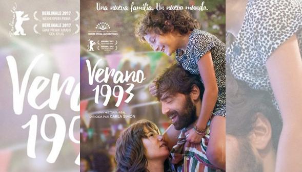 Verano 1993, rodada en catalán, candidata al Óscar