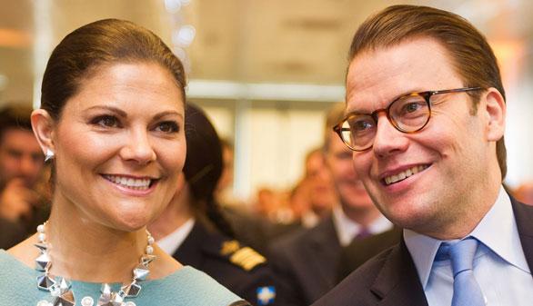 El segundo hijo de Victoria de Suecia se llamará Oscar Carl Olof