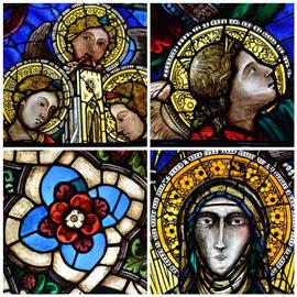 Detalles de la restauración de la vidriera diseñada por Ghiberti. Fotos: Opera Duomo