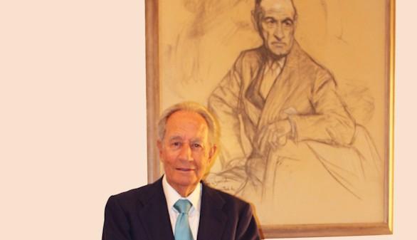 Villar Mir, presidente de la Fundación Ortega-Marañón