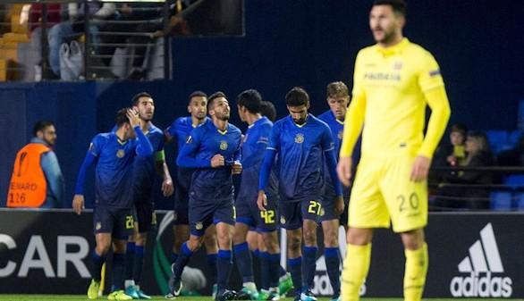 Liga Europa. El Villarreal cierra la fase de grupos con una derrota en casa ante el colista |0-1
