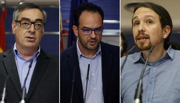 Iglesias revienta en un minuto el paripé de Sánchez y Rivera