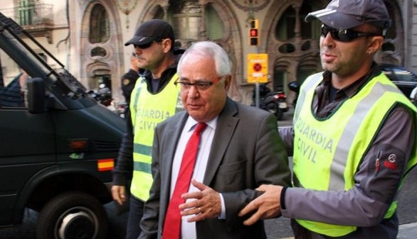 Viloca abandona la cárcel después de que CDC pagara 250.000 euros por su fianza