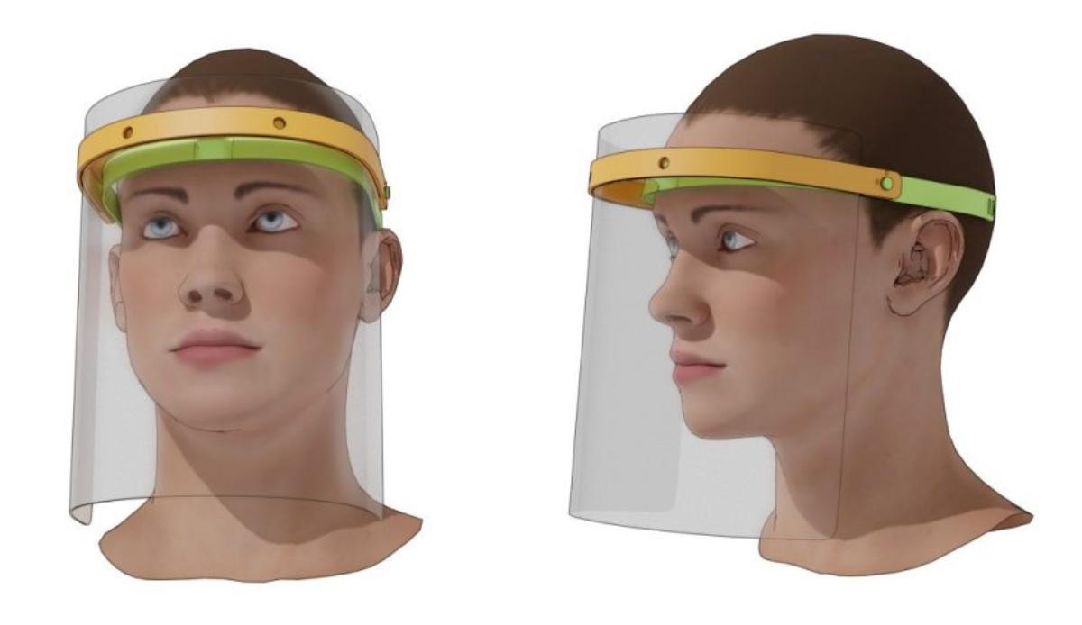 Impresión en 3D contra el Covid-19: viseras en 3 horas y mil mascarillas en 3 días
