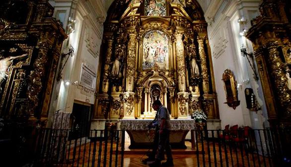 El Ayuntamiento de Madrid organiza visitas guiadas gratuitas a la tumba de Cervantes