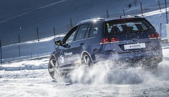 Volkswagen te enseña a conducir en hielo y nieve en Laponia y Andorra