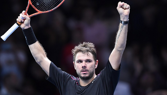 Copa Masters. Wawrinka supera a Murray y se cita con Federer   (7-6(4) y 6-4)