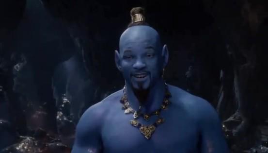Will Smith se estrena como el genio de la lámpara en Aladdin