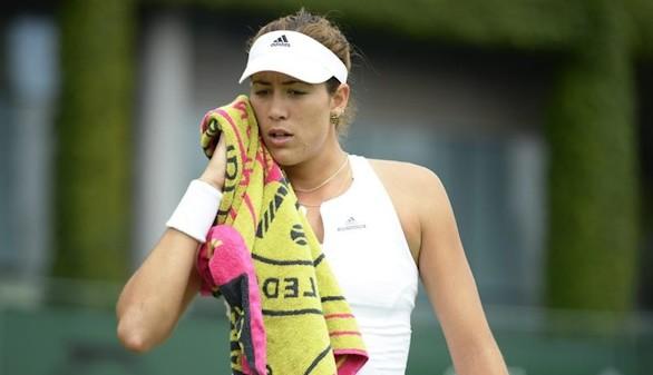 Wimbledon. La concentración juega una mala pasada a Garbiñe