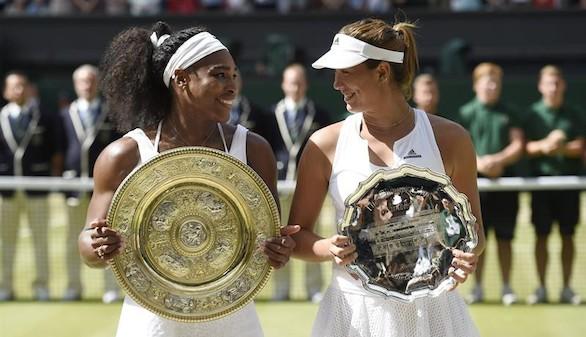 Wimbledon: El huracán Serena Williams puede con la ilusión de Muguruza