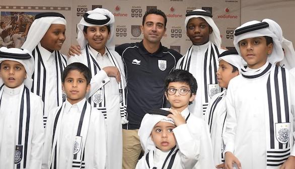 Xavi es presentado oficialmente como nuevo jugador del Al Sadd catarí