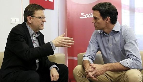 Valencia se rebela contra Sánchez y pretende ir con Podemos al Senado