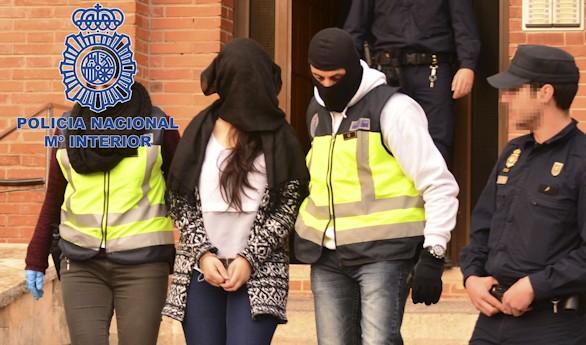 Desmantelada una célula de propaganda y captación de yihadistas en España