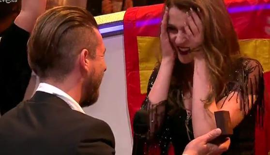 Vídeos virales. La primera pedida de mano en Eurovisión