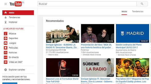 YouTube lanza YouTube TV, un nuevo servicio de televisión por 35 dólares