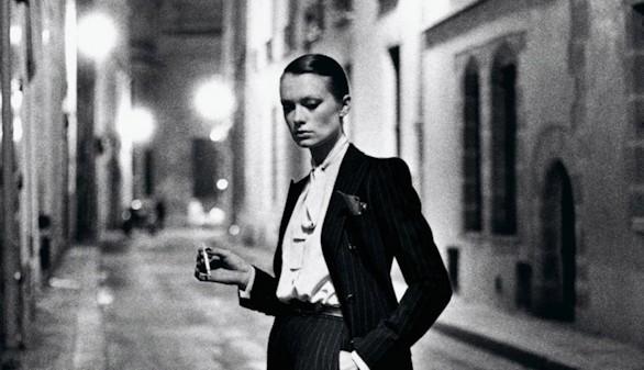 Sophia Loren, Warhol o Dalí, fotografiados por Helmut Newton en