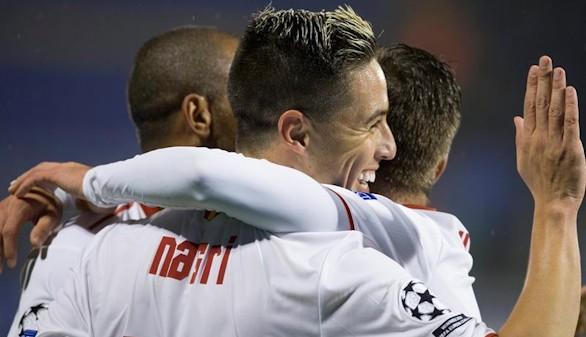 El Sevilla da un gran paso hacia los octavos de final |0-1