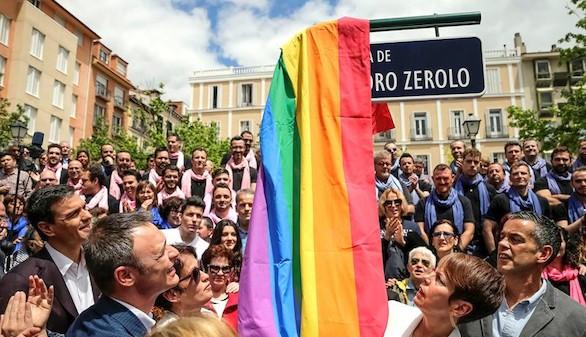Pedro Zerolo cuenta ya con una plaza a su nombre en Madrid