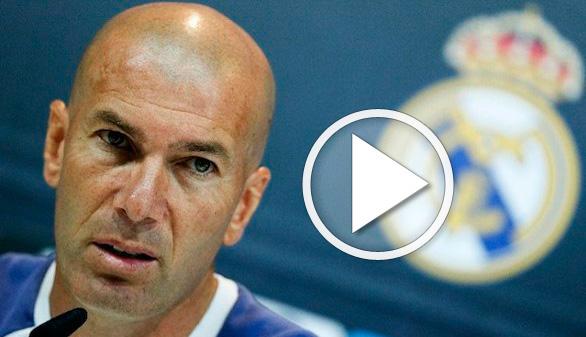Zidane afila las garras, por primera vez, para defender a su equipo