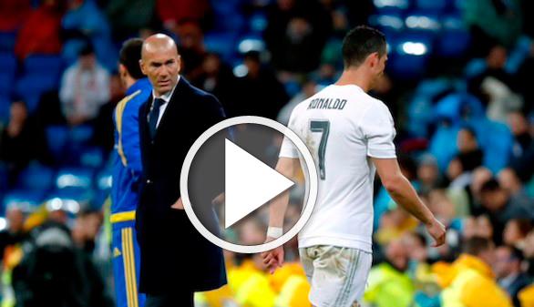 Zidane se apea de la polémica entre Florentino y Ronaldo: