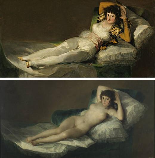 A Quién Retrató Goya En Las Majas El Imparcial