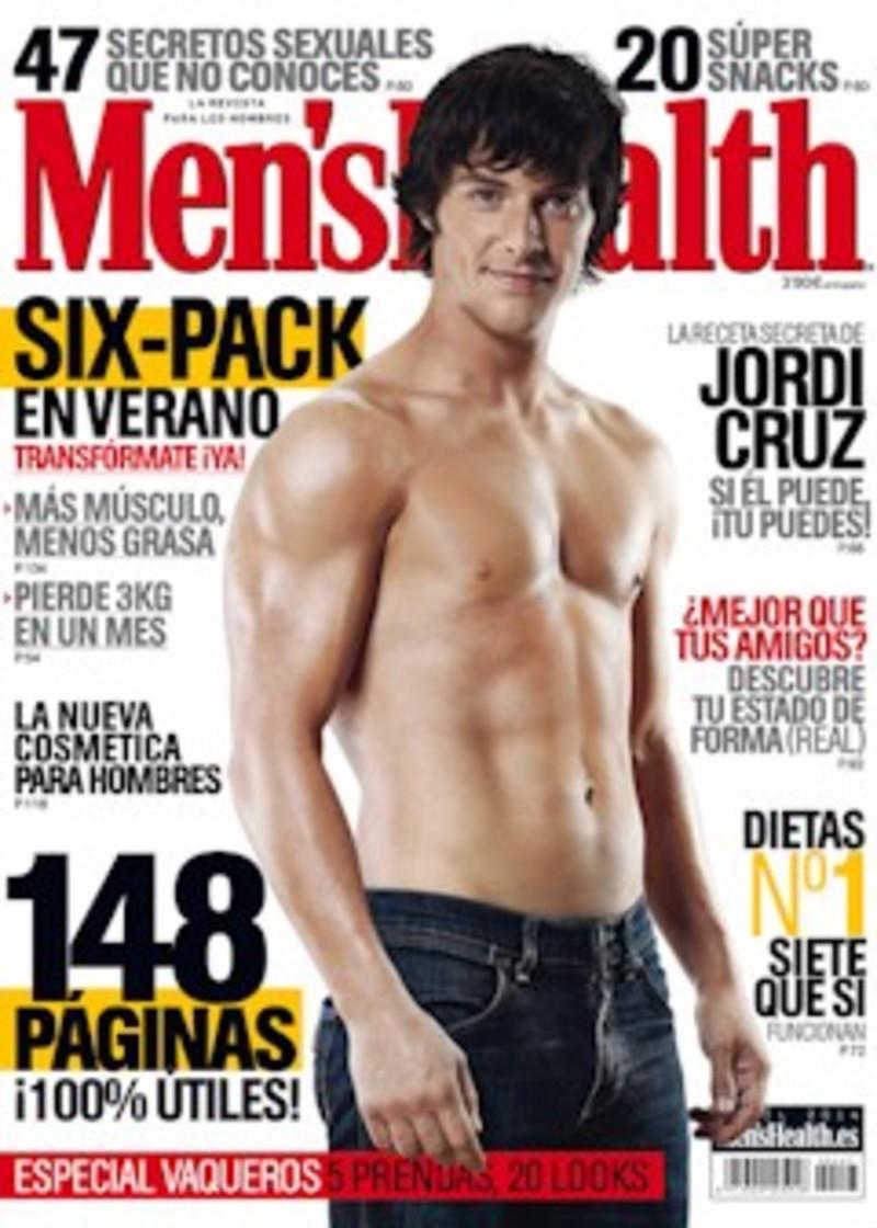Jordi cruz estrena abdominales en i men 39 s health i el - Como ponerse en forma en un mes ...
