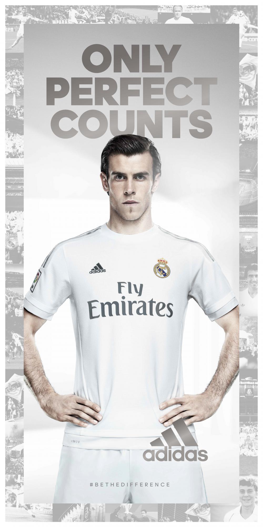El Real Madrid estrena equipación. Foto  Adidas e9b13f129082c