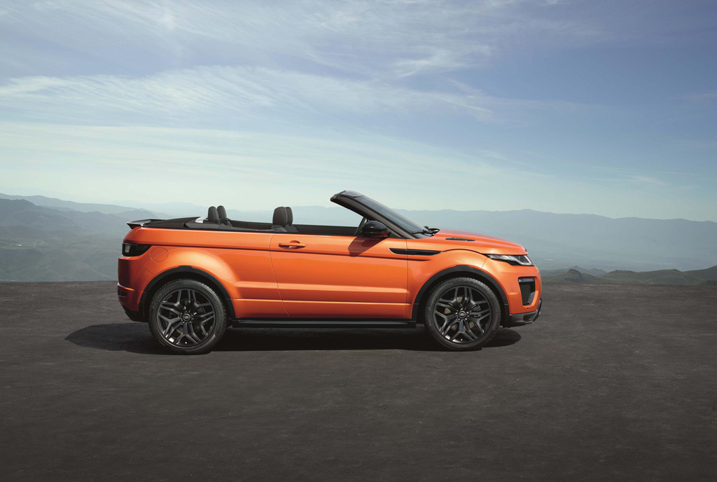 range rover evoque convertible el imparcial. Black Bedroom Furniture Sets. Home Design Ideas