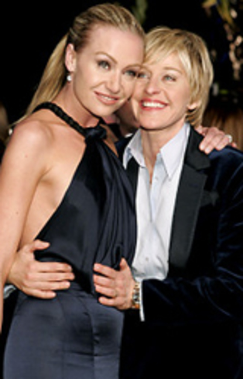 Ellen y Portia boda