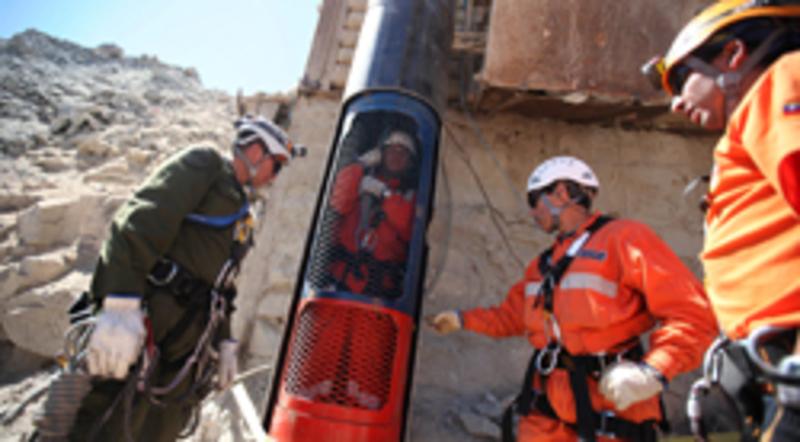 El rescate de los 33 mineros atrapados en la mina San José | El ...