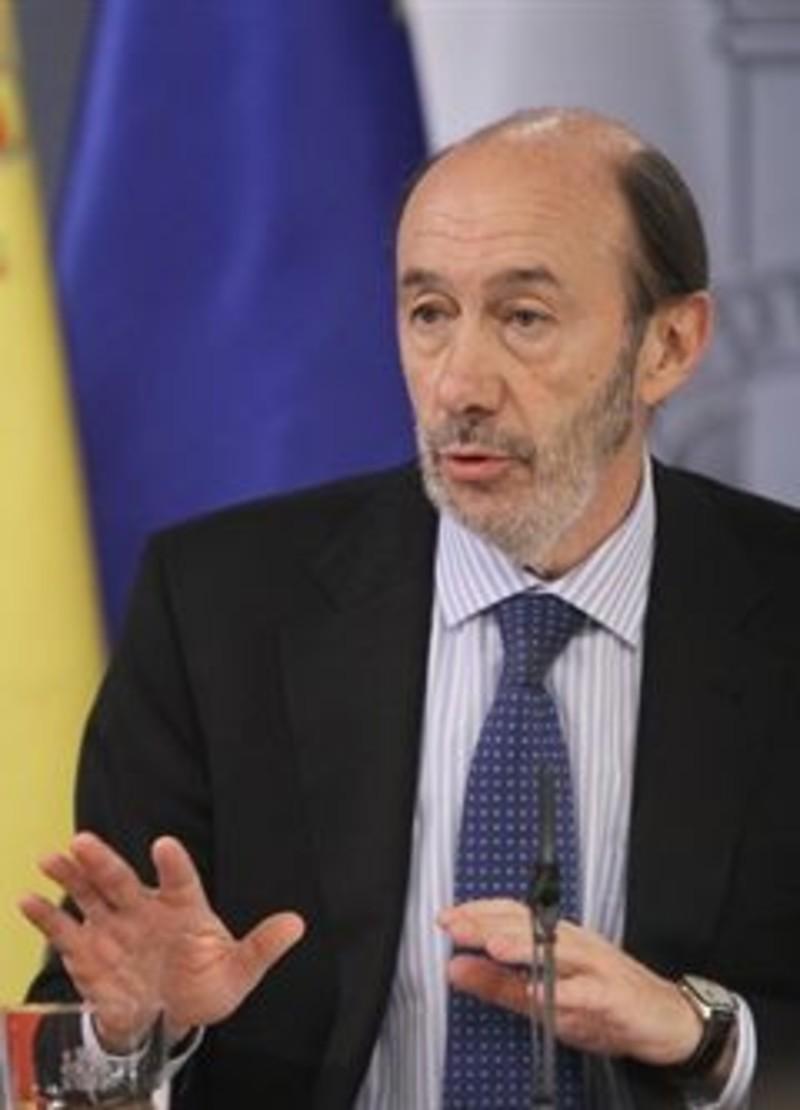 Rubalcaba mejora y vuelve a planta el imparcial for Agenda ministro interior