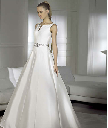pronovias viste de novia a jóvenes de la aristocracia española e