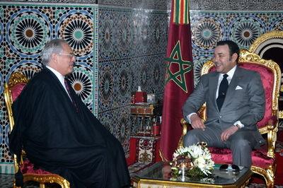 El rey Mohamed VI, reunido con el enviado especial de la ONU para el Sahara Occidental, Christopher Ross