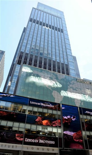 Sede de Lehman Brothers. Efe