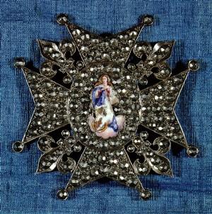 Placa de la gran cruz de la Real y Muy Distinguida Orden de Carlos III (1802)