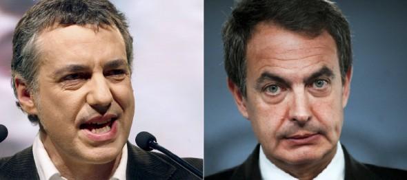 Iñigo Urkullu y José-Luís Rodríguez. Efe.